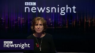 God Save The Queen playout - BBC Newsnight
