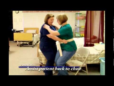 Instructional Video For Ambulation With A Gait Belt Cna