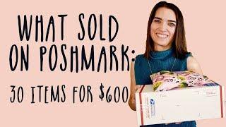 WHAT SOLD ON POSHMARK | SALES RECAP | THRIFT TO FLIP #14