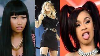 Miley Cyrus Digs Herself Into Beef W/ Nicki Minaj + Cardi B 😆