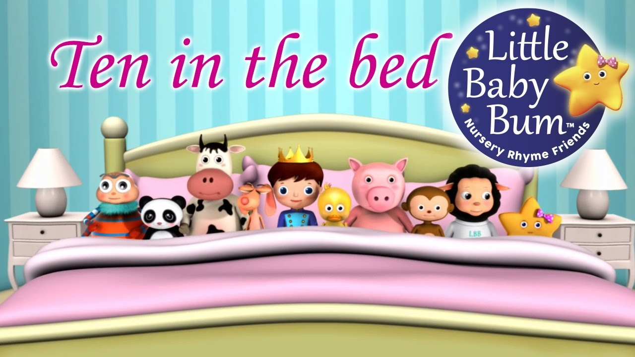 Ten In The Bed | Nursery Rhymes | HD Version from ...