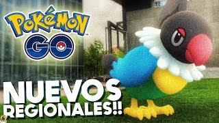 NUEVOS REGIONALES DE LA 4ta GEN!! | 840 | POKEMON GO