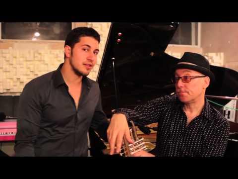 Brian Lynch / Emmet Cohen Recording Project 2013 - Official Kickstarter Video online metal music video by EMMET COHEN