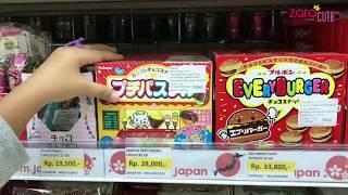 Zara Review Snack Jepang | Biskuit Coklat bermuatan Pendidikan dan Persahabatan