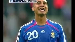 Francia vs Mexico 2006 Amistoso Zidane