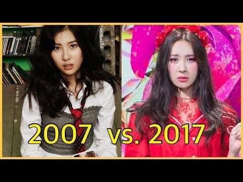 The Evolution of SUNMI (2007-2017)