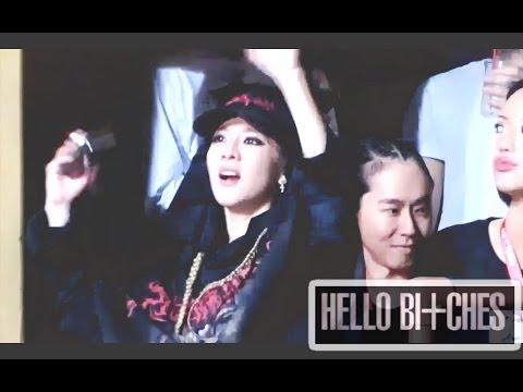 DARA (2NE1) Dancing HELLO BI+CHES by CL ♥ CHAERA