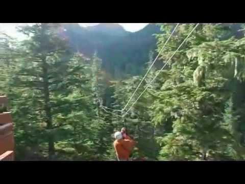 Alaska Zipline Adventures 2013 - Zipline in Juneau, Alaska