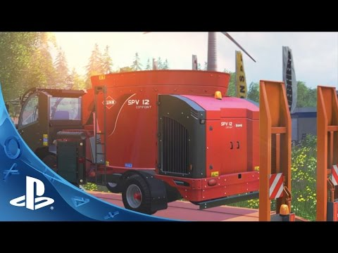 Farming Simulator 15 Trailer