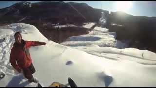 Une bonne vidéo de motoneige hors piste