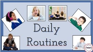 Daily Routines: English Language