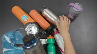 Chon lựa bình nước để trekking