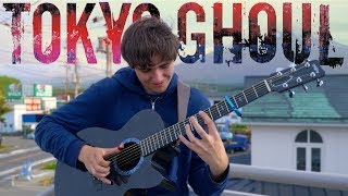 Unravel - Tokyo Ghoul OP 1 [Full Version] Fingerstyle Guitar Cover