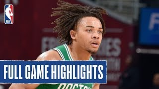 CELTICS at CAVALIERS | Carsen Edwards CATCHES FIRE WITH 8 3PM IN 3Q | 2019 NBA Preseason