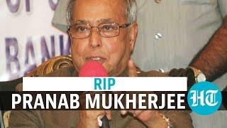Pranab Mukherjee dies: President Kovind, PM Modi, V-P and ..