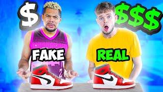 Guess The Fake Vs Real $$ Designer Shoe!