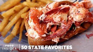 The Most Iconic Food In Every State | 50 State Favorites
