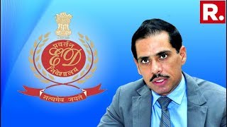 ED Moves Court Against Robert Vadra Demanding To Cancel His Bail