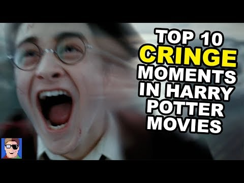 Top 10 CRINGE Moments in Harry Potter Movies