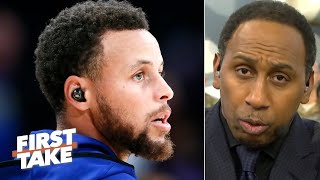 Steph Curry headlines Stephen A.'s list of the top 5 leaders in sports   First Take   First Take