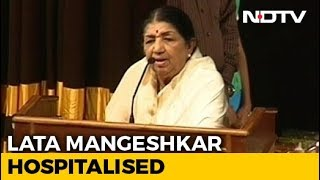 Singer Lata Mangeshkar Is In ICU..