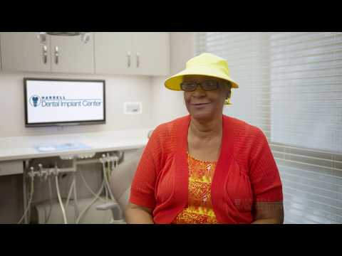 Sharon loves the ease and stability of her implant-supported denture