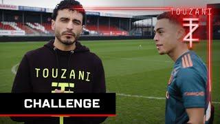 VOETBAL CHALLENGES - TOUZANI vs SERGINO DEST #AJAX