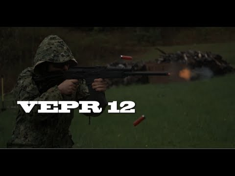 VEPR 12  Shotgun (Part 1) + Slow-motion - KGB Survivalist  - WxvAbBnjy-M -