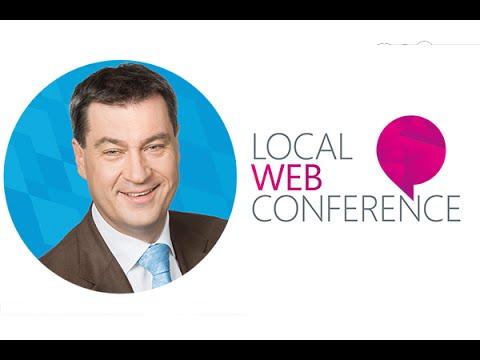 Vortrag: Dr. Markus Söder über Local Web - Neue Heimat