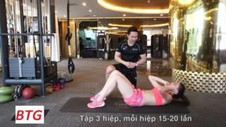 Tập GYM Nữ - Hoa Hậu Kỳ Duyên Tập Eo Thon - Cơ thẳng bụng