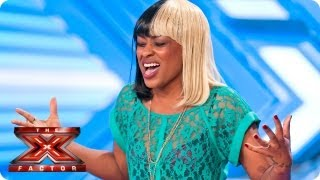 Relley C sings Don't You Worry Child -- Room Auditions Week 2 -- The X Factor 2013