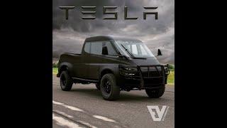 2020 Tesla Pickup truck