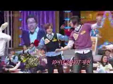 Star Golden Bell - 080329 Moon Hee Jun Dance (H.O.T - Candy)