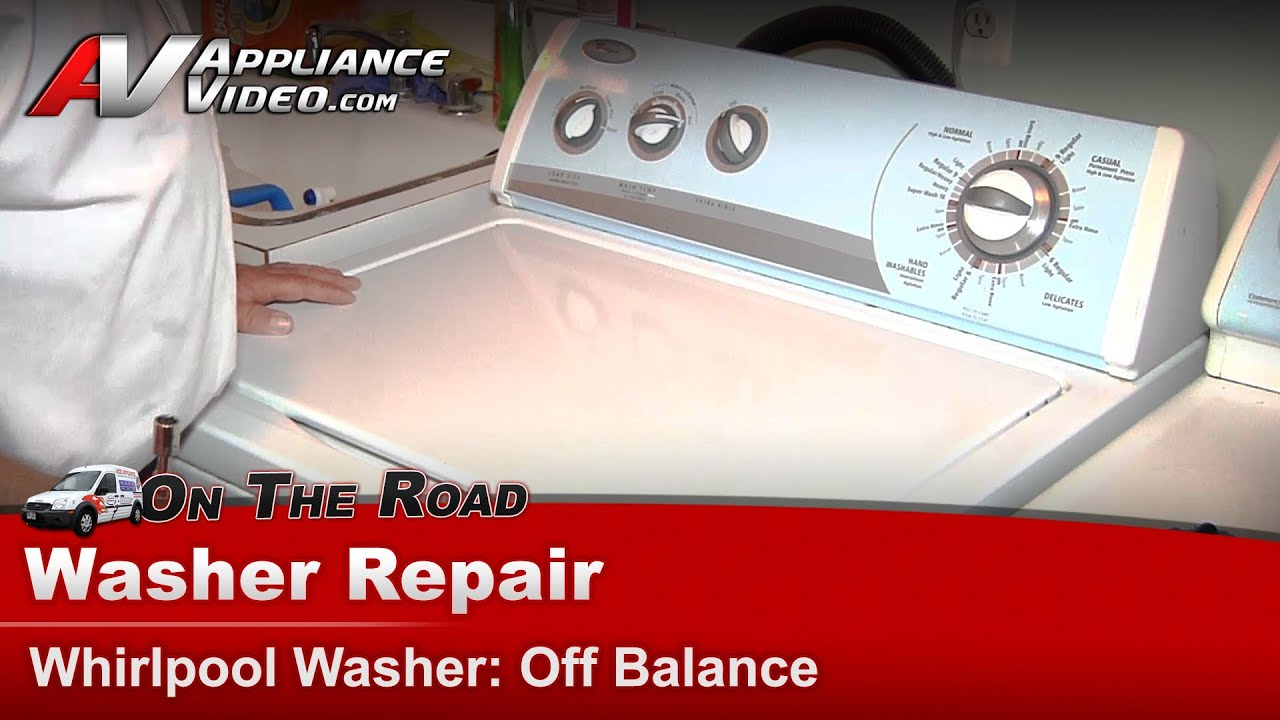 Whirlpool Washer Repair Amp Diagnostic Off Balance Load In