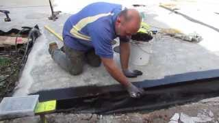 How to Waterproof a Concrete Slab