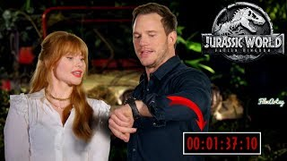 Chris Pratt & Bryce Dallas Howard Funnily Explains Jurassic Park In Under 2 Minutes