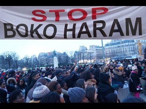 Camerounais, Tchadiens,Nigerians, au Trocadero tous veulent la destruction de Boko haram