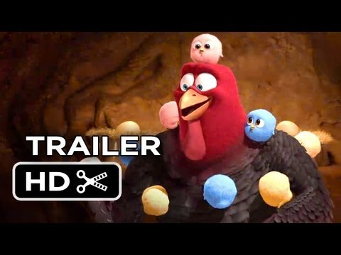 Free Birds Official Trailer #2 (2013) - Owen Wilson Animated Movie HD