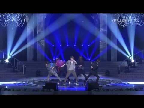 SHINee- Lucifer & Sherlock (Clue + Note) KBS Open Concert 120325