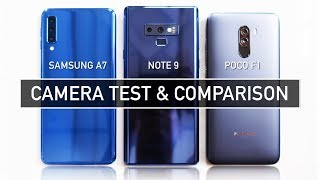 Samsung A7 2018 / Note 9 / Poco F1 CAMERA TEST Sample Photo Video | Zeibiz