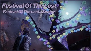 Festival Of The Lost - Destiny 2: Forsaken - Ep 14 - Festival Of The Lost...Sector Quest Step