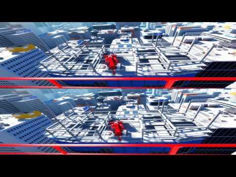 YT3D - Mirror's Edge 3D.HD720p (iZ3D driver)