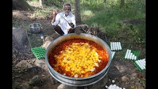 World Largest Scrambled EGG Prepared by My Daddy ARUMUGAM / Village food factory