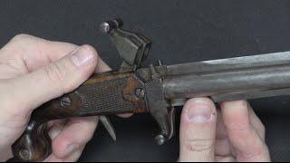 Norwegian 1846 Postførerverge Knife-Pistol?