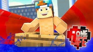 CRAZY BOAT WATERSLIDE! | One Life SMP #62