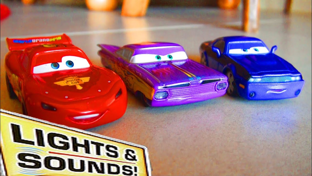 Disney Cars Toys Youtube: Cars 2 Lights And Sounds Talking Ramone Rod Torque Redline