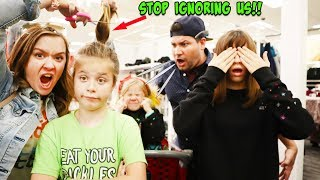 WE IGNORED OUR PARENTS IN TARGET!!