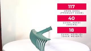 Plastic Rake (16 Teeth)