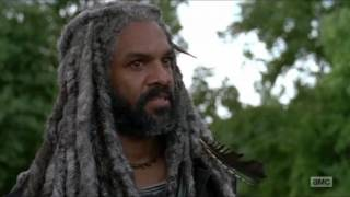 The Walking Dead - King Ezekiel & Morgan meet up with The Saviors.