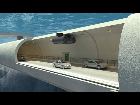 Podvodný plávajúci tunel v Nórsku za 47 miliárd dolárov